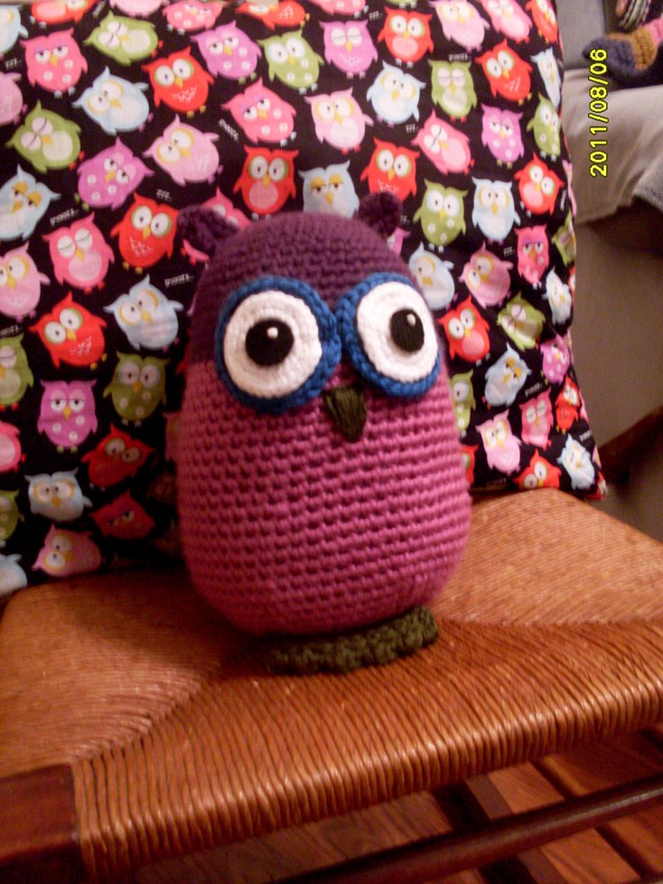 stuffed owl pattern – not your average crochet