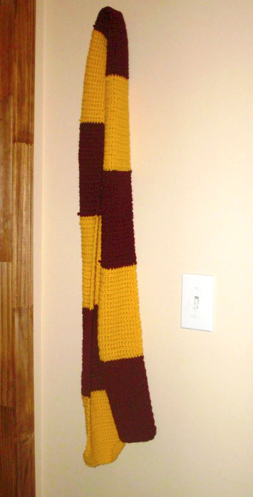 Harry Potter Scarves Not Your Average Crochet