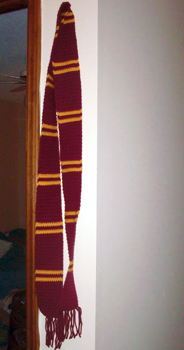 Harry Potter Scarves Not Your Average Crochet
