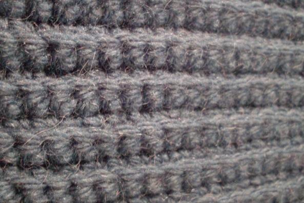 Crochet Rib Stitch : ribbedstitch