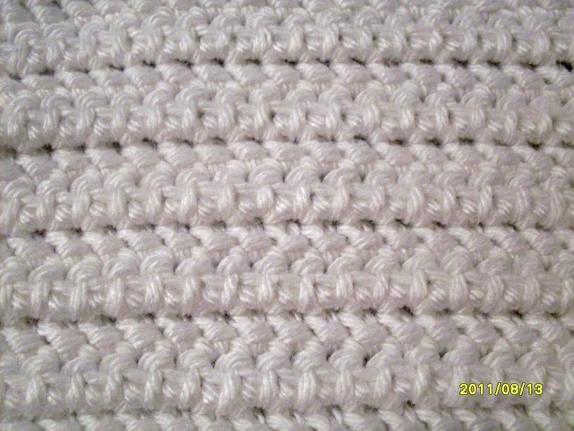 Crochet Yoh : counterpane stitch - not your average crochet