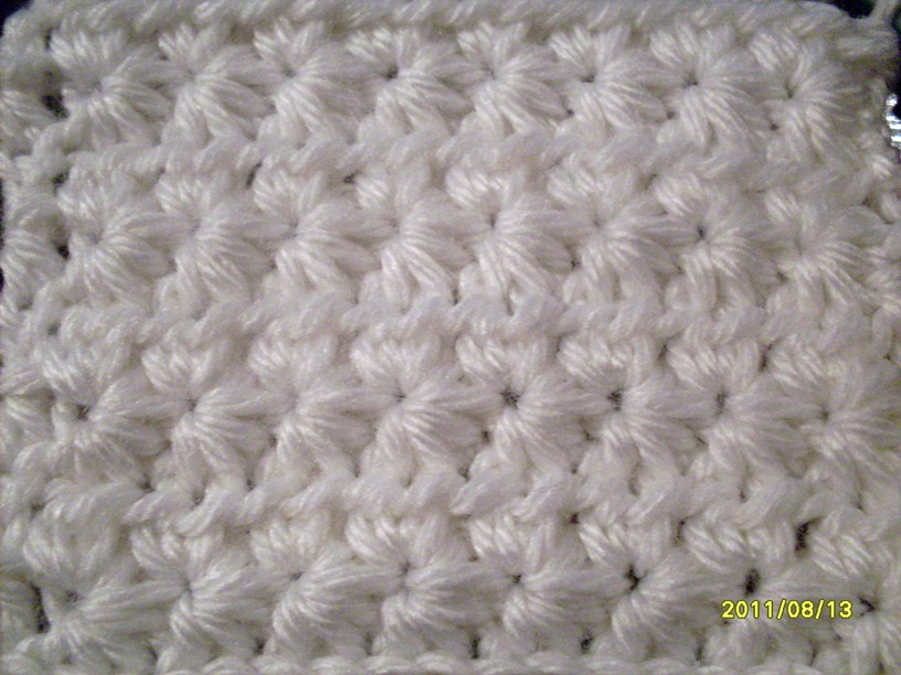 full star stitch - not your average crochet