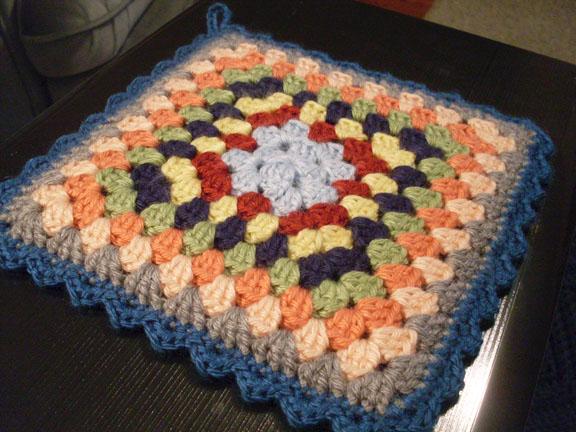 Potholder Not Your Average Crochet