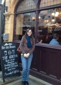 This is me on my trip to England over Christmas 2012 when I got to visit with Rachel, a great crochet blogger!