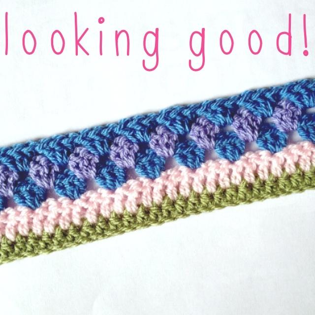 Stripy Blanket CAL #1 (3/5)