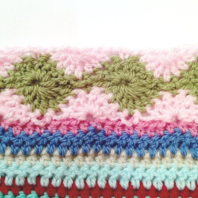 As We Go Stripey Blanket Not Your Average Crochet
