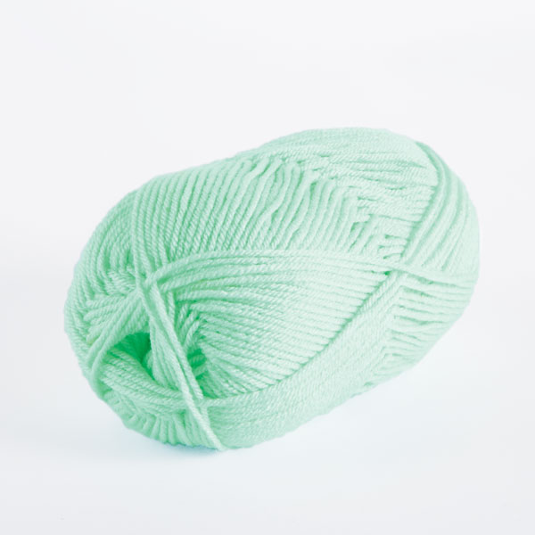 brava worsted acrylic in mint
