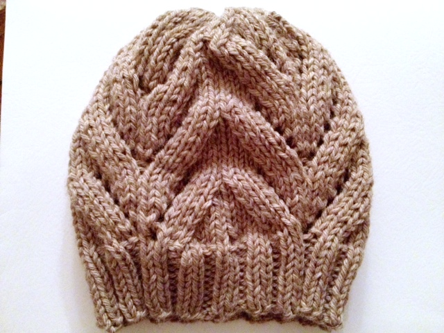 Chunky Knit Hat Pattern Free : a hat and my new job   not your average crochet