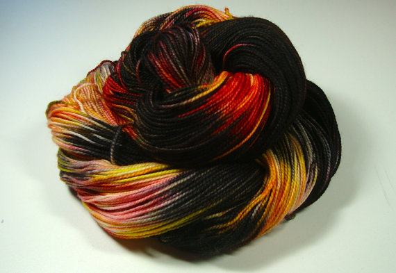 District 12 2-Ply Sock Yarn from BrazenStitchery