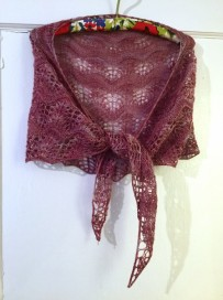As You Wish wrap - more photos and link to pattern at notyouraveragecrochet.com