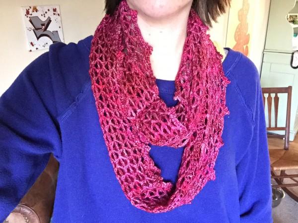 Desert Rose - crocheted by Hannah from Not Your Average Crochet