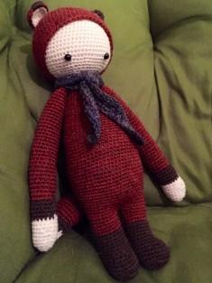 Fibi the Fox - crocheted amigurumi fox