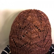 Star Anise hat knitted