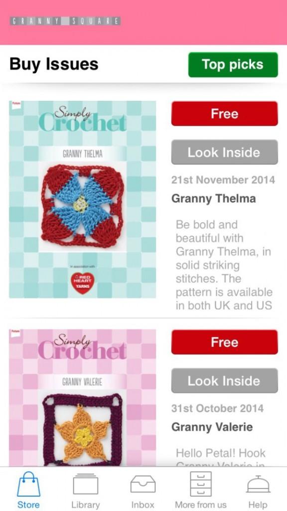 granny square ios app