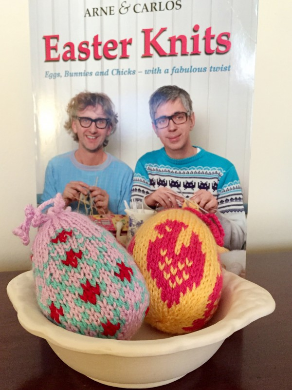 arne & carlos easter knits book review
