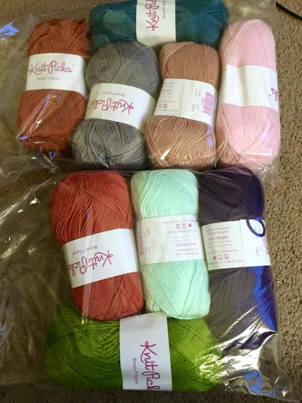 clamshell blanket palette