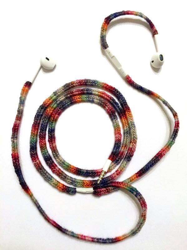 Earphone wrap winder - earphone jack cord