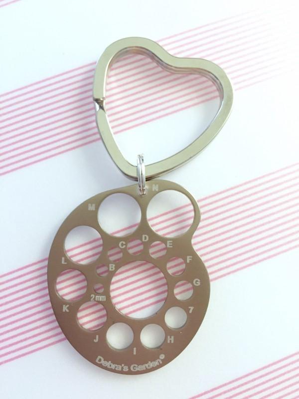 needle gauge pendant