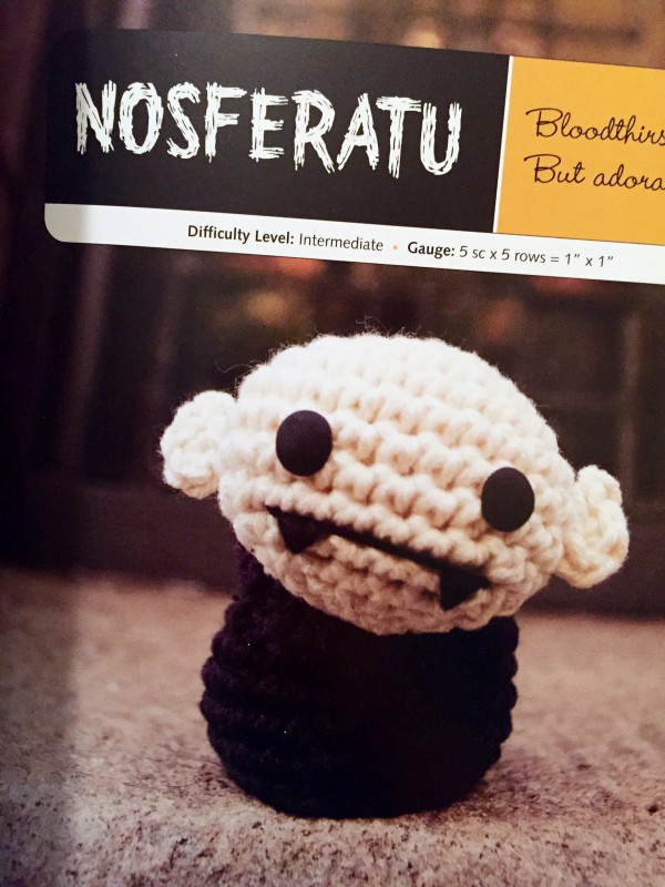 Creepy Cute Crochet Nosferatu