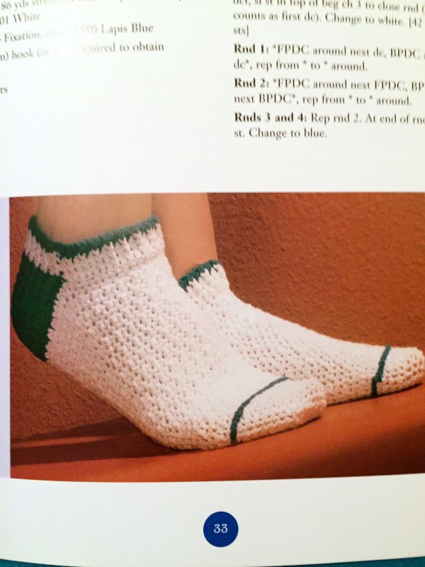 Crocheted Socks! example