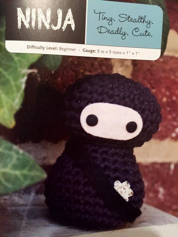 Creepy Cute Crochet Ninja