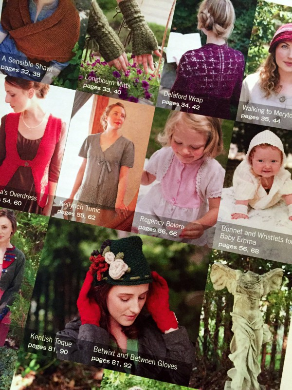 Jane Austen Knits examples