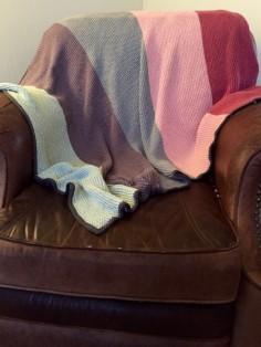 garter stitch blanket