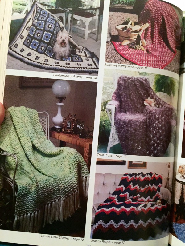 The Great Afghan Book blankets