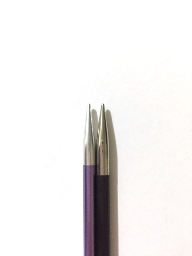 KnitPro Zing vs Karbonz