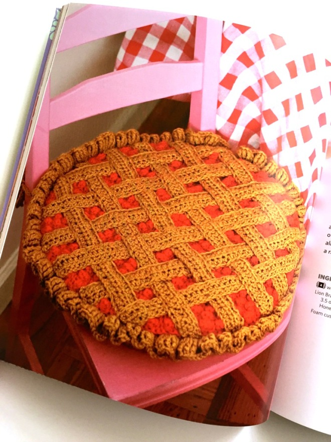 pie seat cushion