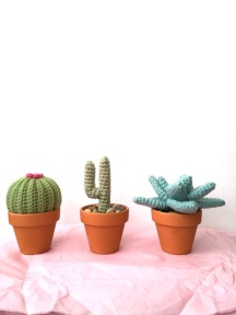 not your average crochet - cacti