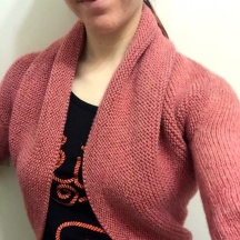 not your average crochet - maeve shrug