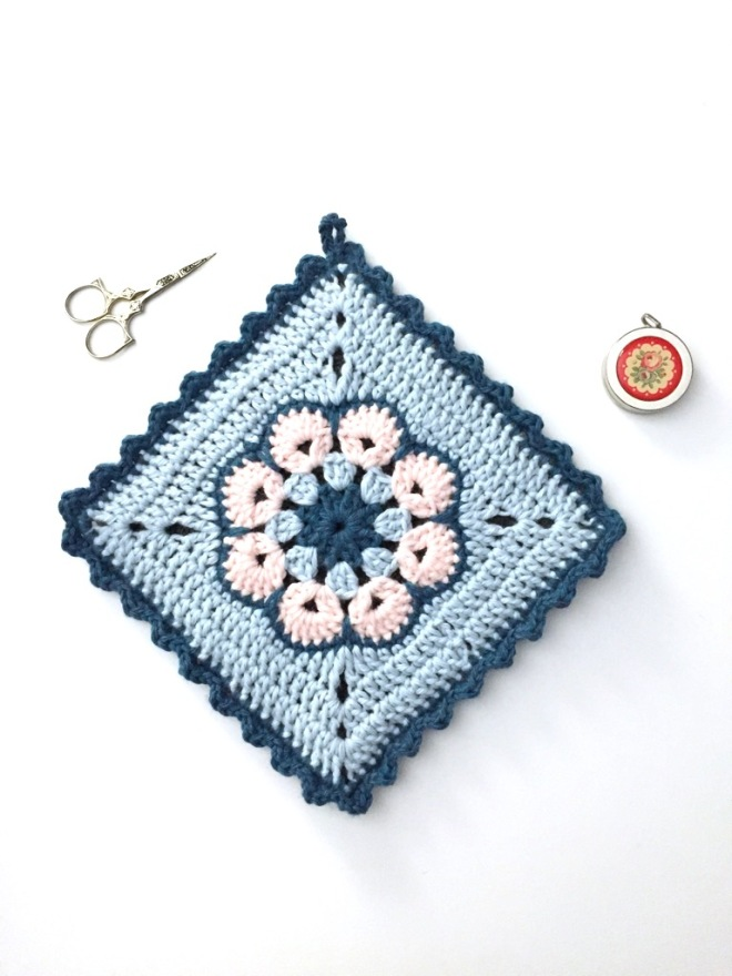 African Flower Not Your Average Crochet