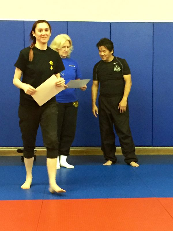 After Sifu Fong gave me my certificate at the second seminar in Atlanta
