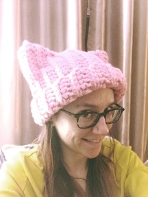 not your average crochet pussyhat project
