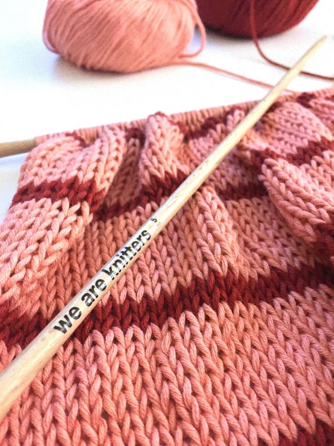 Abruzzo Sweater Kit Progress