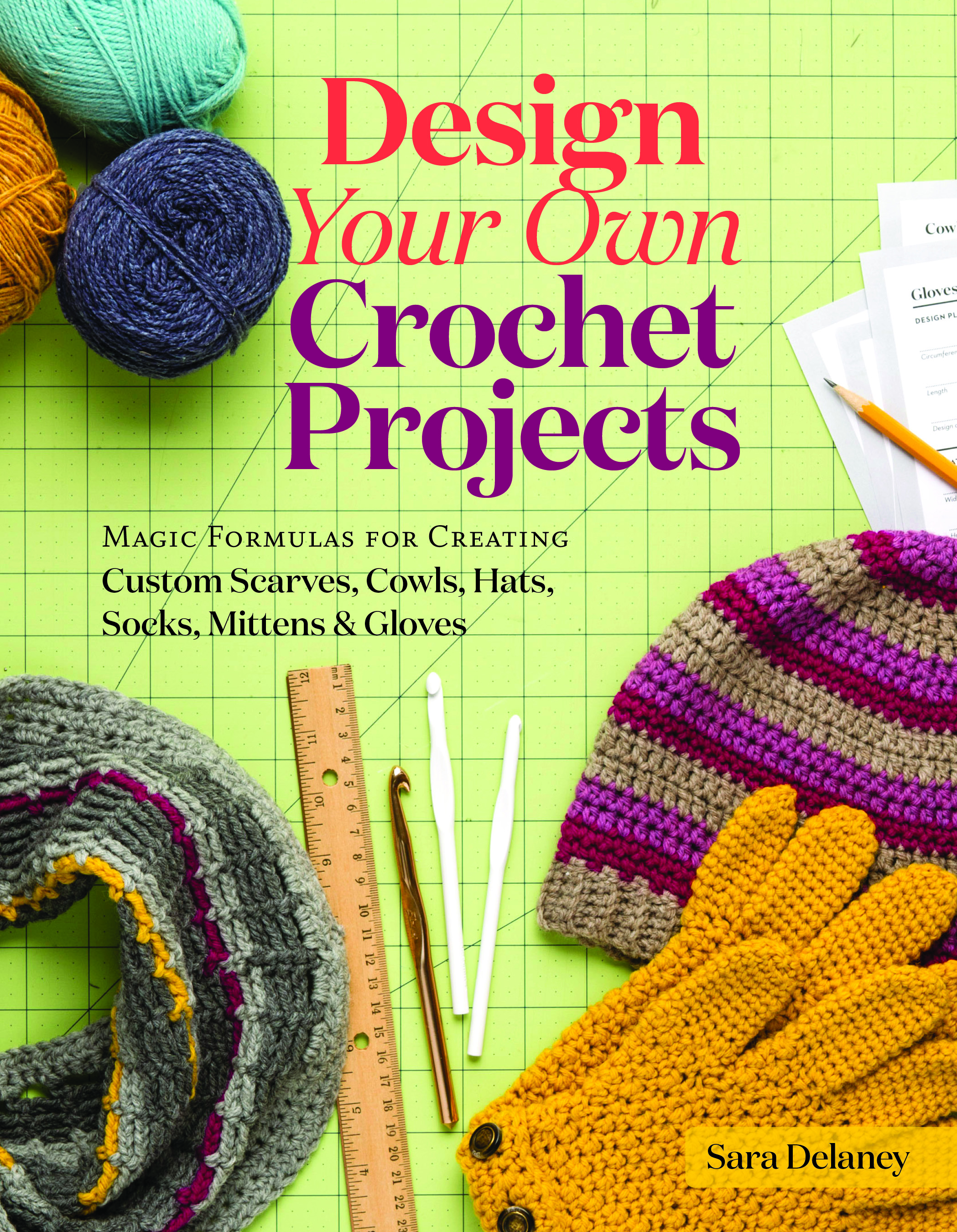 How To Make A Knitted Book Cover ~ Not your average crochet